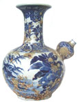 Double-Gourd Kendi Ewer - Blue and White Porcelain