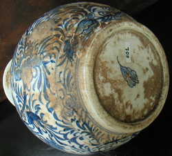Double-Gourd Kendi-Style Ewer - Chinese Blue and White Porcelain