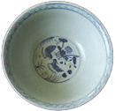 Large Bowl with Water Scene - Blue and White Porcelain