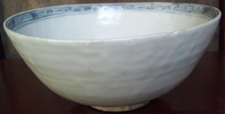 Bowl with Central Medallion - Chinese Blue and White Porcelain
