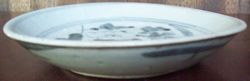 Swatow Bowl with Floral Design - Chinese Blue and White Porcelain