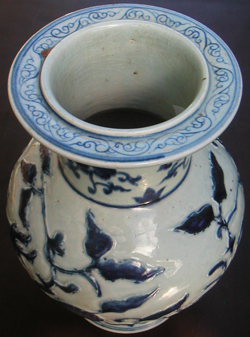 Vase with Qilin - Chinese Blue and White Porcelain