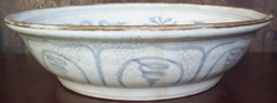 Tradeware Plate with Bird - Chinese Blue and White Porcelain