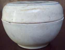 Covered Container - Chinese Blue and White Porcelain