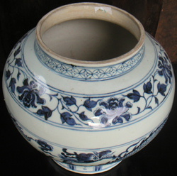 Dragon Vase - Chinese Blue and White Porcelain