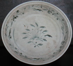 Plate with Lotus Blossom - Chinese Blue and White Porcelain