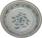 Plate with Blossom - Blue and White Porcelain