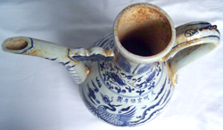 Ewer with Flying Phoenix - Chinese Blue and White Porcelain