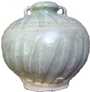 Two-Handled Celadon Vase - Chinese Celadon Ceramics