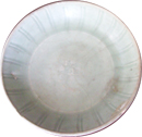 Plate with Incised Lines - Chinese Celadon Ceramics