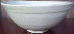 Bowl with Floral Medallion - Chinese Celadon Stoneware Ceramics