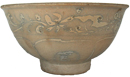 Shipwreck Bowl with Floral Design - Chinese Celadon Ceramics
