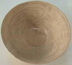 Brown Shipwreck Bowl - Chinese Celadon Stoneware Ceramics