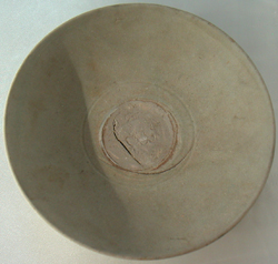 Celadon Dish with Faded Glaze - Chinese Celadon Stoneware Ceramics