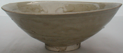 Celadon Bowl with Floral Design - Chinese Celadon Stoneware Ceramics