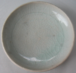 Light Blue Celadon Dish -  Celadon Stoneware Ceramics