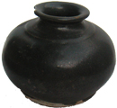 Dark Brown Jar - Chinese Earthenware Ceramics