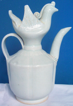 Qingbai Ewer with Bird's Head - Chinese Porcelain and Stoneware