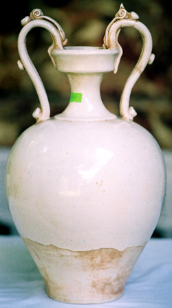 Large Amphora with Dragon Handles - Chinese Porcelain and Stoneware