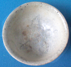 Swatow Bowl from Shipwreck - Underglaze Black Chinese Ceramics