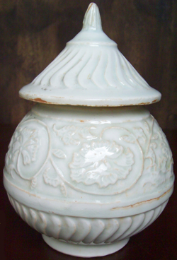 Qingbai Covered Container - Chinese Porcelain and Stoneware