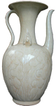Ewer with Floral Design - Whiteware Porcelain & Stoneware