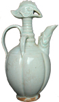 Ewer with Phoenix Head - Whiteware Porcelain & Stoneware