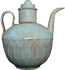 Qingmal Ewer with Cover - Whiteware Porcelain & Stoneware