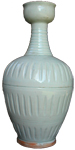 Cup-Mouthed Vase - Whiteware Porcelain & Stoneware