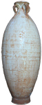 Four-Handled Vase - Whiteware Porcelain & Stoneware