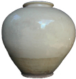 Large Ceremonial Vase - Whiteware Porcelain & Stoneware