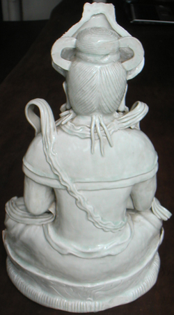 Seated Buddha Figure - Chinese Porcelain and Stoneware